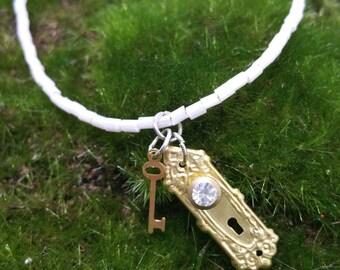 Alice in Wonderland charm bracelet,