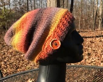 Autumn Rainbow Slouchy