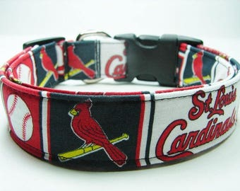 St. Louis Cardinals Dog Collar