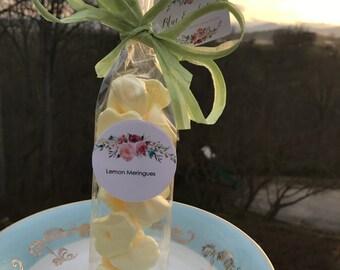 Mini Lemon Meringue Cookies - Gluten Free
