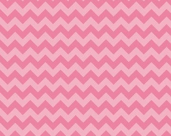 Chevron Knit Fabric - Riley Blake