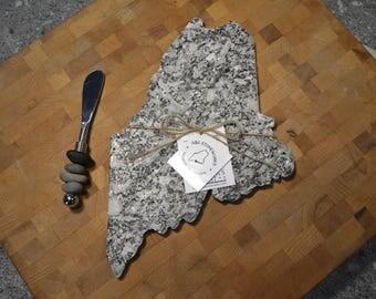 Granite Maine Cheeseboard - Cheese Board State Shaped