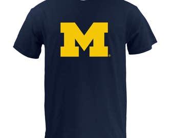 Michigan Wolverines Primary Logo T-Shirt
