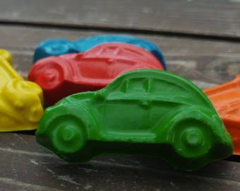 Car Crayons set of 10 - Party Favors - Classic Cars - Cars Party