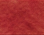 """Fat Eighth - Wool Fabric - Hand Dyed - Snapdragon - 100% Wool - 16"""" x 12"""""""