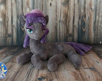 My little pony  sleepy Maud Pie custom plushie