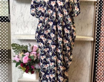 Chic Kaftan Dress Beach Cover Up Dress Tunic Bohemien Dress Hippie Dress Kimono *SALE