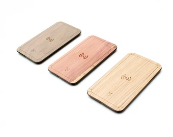 TIMBER Qi Wireless Wood Skin Charging Pad: FREE US Shipping