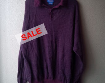 Pendleton Merino Wool Sweater Pullover XL Oxblood Red Pendleton Woolen Mills Cardigan