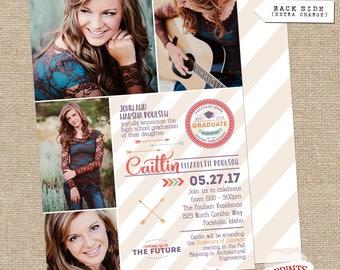 Caitlin Graduation Announcement