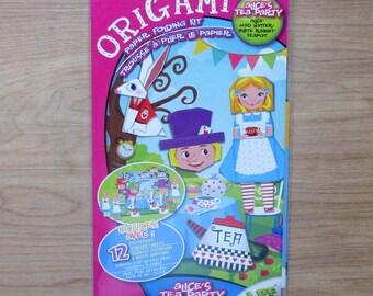 Origami Paper Folding Kit~ Origami Alice's Tea Party