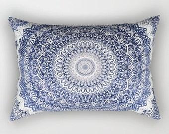 COLD WINTER  MANDALAS Bohemian Rectancular Pillow