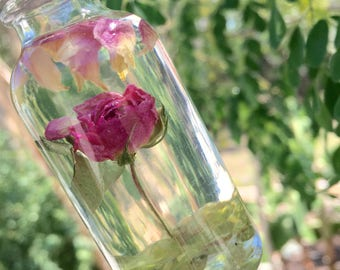 2 oz organic natural essential oil custom intuitive blend Mother's Day Full Moon Magic coconut oil, roses, frankincense, myrrh healing