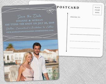 Tying the Knot - Postcard - Save-the-Date