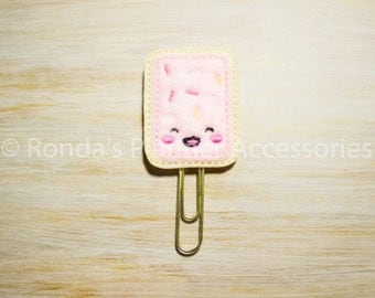 Toaster Pastry Planner Clip
