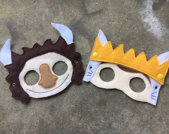 Where the Wild Things Are masks