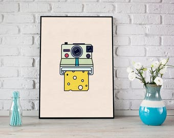 Say Cheese Print