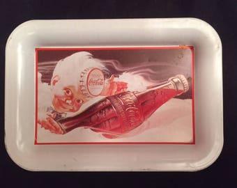 """Coca Cola Sprite 6 1/2"""" tin tray"""