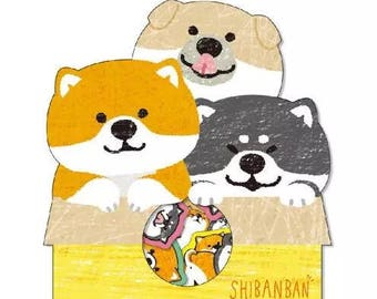 Shibanban Dog Stickers ST7103S