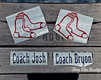 Coach Gift Rookie Baseball Decals Red Sox Decal Cubs Decal