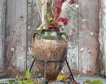 Old Ceramic Earthenware Pot,Terracotta Pots.Antique Pottery