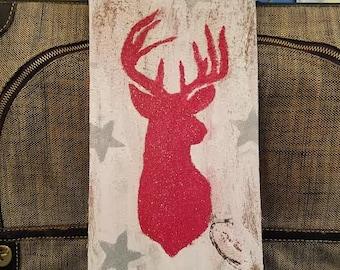 Starry Deer Painting