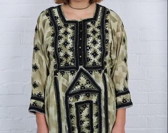 Tribal bohemian dress