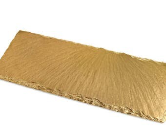 New & Improved Gold Slate Tray