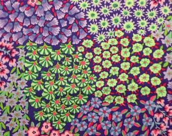 Kaffe Fassett Fabric Persian Garden PWGP 160 by FreeSpirit Westminster Fibers Designer CT - 100% Quality Cotton - Choose Your Cut or Yardage