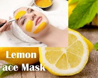 Organic Lemon Peel Powder 100 gms - All Skin Types Best for Oily - 100% Ground Powder