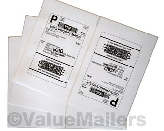 100 XL SHIPPING LABELS 8.5x5.5