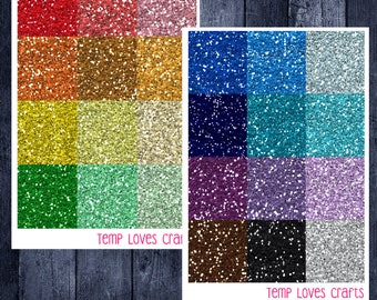 Glitter Headers for ECLP or Happy Planner