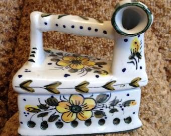 Casket porcelain, vintage Spain, brand