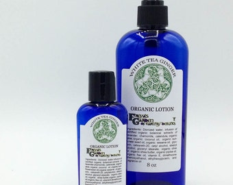 Rose Garden Organic Lotion, Natural Lotion, Jojoba Lotion, Shea Butter Lotion, Moisturizer, Organic Hand Lotion, Body Lotion, Scented