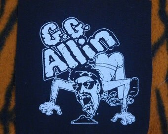 GG Allin patch