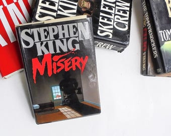 Misery by Stephen King 1987, Viking Press  (Hardcover) 1st Edition, 1st Print