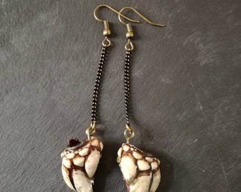 Finger of the Dragon earrings