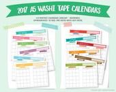 2017 A5 Washi Tape Calend...