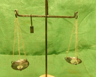 viking period trading scales in steel  with counter weight isle of man find