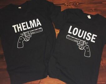 Thelma & Louise Vneck Shirts