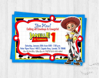Jessie Cowgirl / Toy Story Invitations