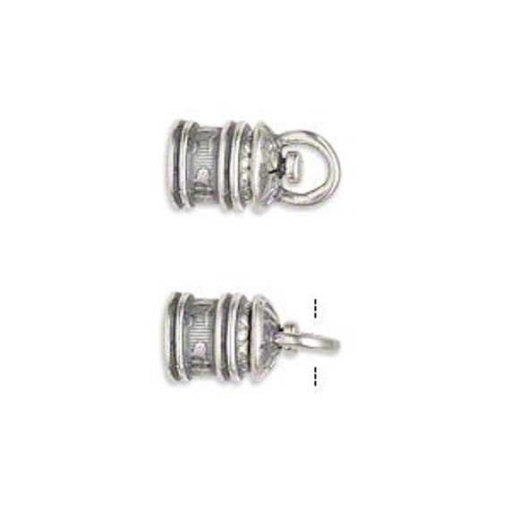 Sale set swivel cord ends mm round opening silver