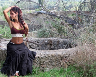 Gypsy  Crochet Top