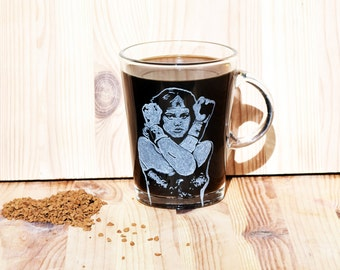 Wonder Woman Coffee Mug, Super Hero Wonder Woman Mug, Super Hero Tea Cup, Personalized Super hero, Superhero Wonderwoman, Gift for wife