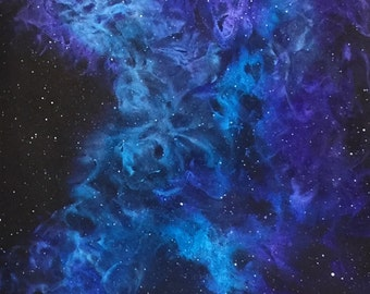 Original Painting Space Art Nebula