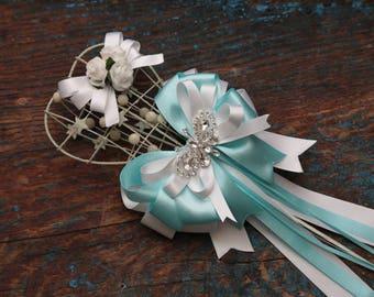Flowergirl  heart wand