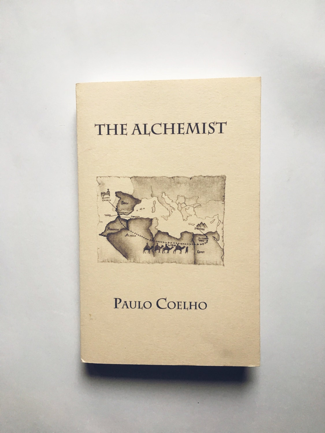 paulo coelho the alchemist personalized paulo coelho book dust jacket custom made mini stic cover art collection quote drawing library bookshelve