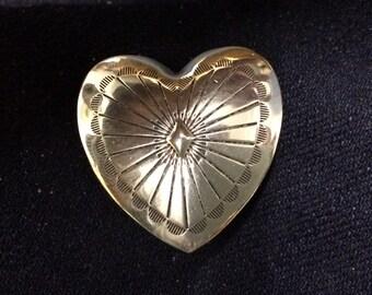 4 - Silver Heart #2 Conchos