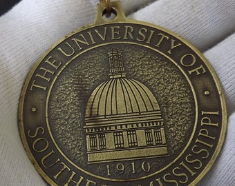 University of Southern Mississippi Bronze Medallion 1910