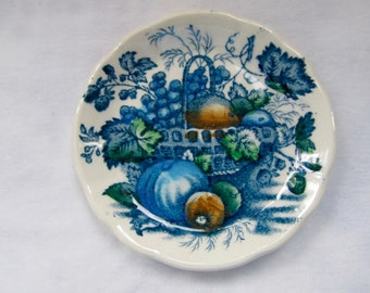 Fruit Basket Mason's Polychrome Butter Pat - Made in England